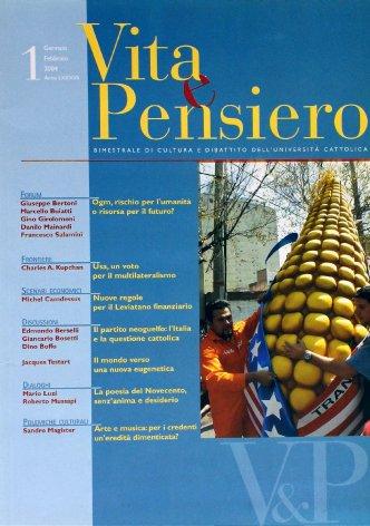 VITA E PENSIERO - 2004 - 1