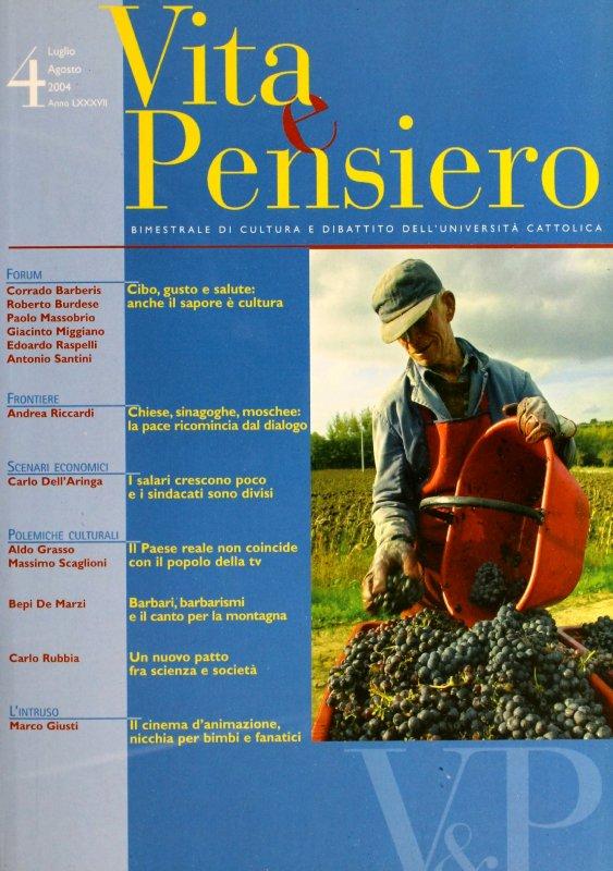 VITA E PENSIERO - 2004 - 4