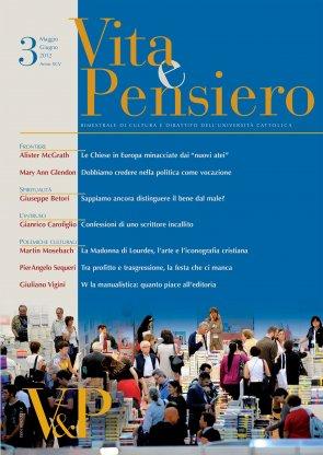 VITA E PENSIERO - 2012 - 3