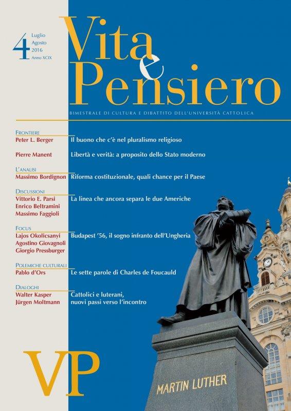 VITA E PENSIERO - 2016 - 4