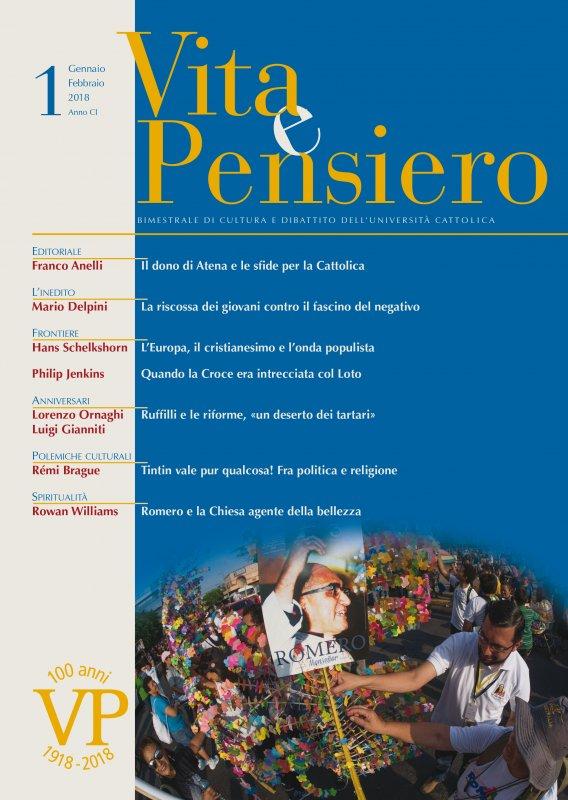 VITA E PENSIERO - 2018 - 1