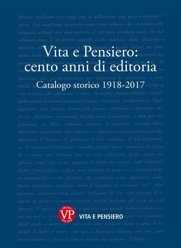 Vita e Pensiero: cento anni di editoria
