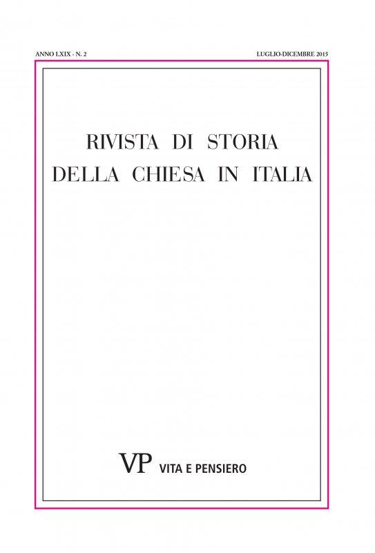 Vivere da gesuiti dopo il 1773. Dal carteggio tra Francesco Antonio Zaccaria e Luigi Mozzi