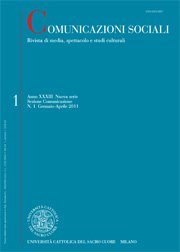 COMUNICAZIONI SOCIALI - 2013 - 3. The responsibility of knowledge. The values of critique and social relevance in research on communication and culture